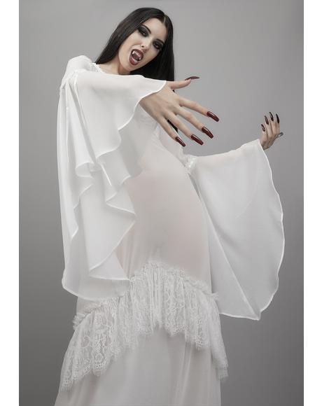 End Of Days Chiffon Maxi Dress