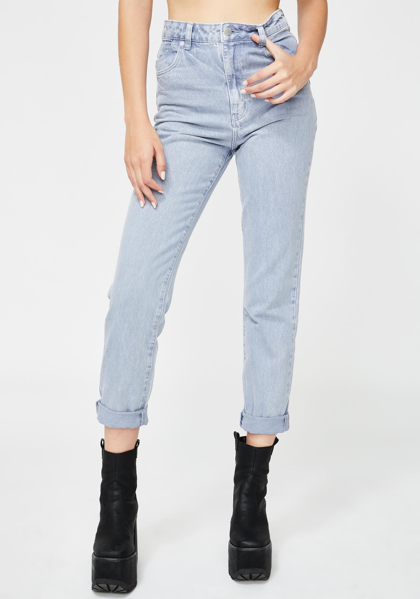 Rollas Heather Dusters Denim Jeans