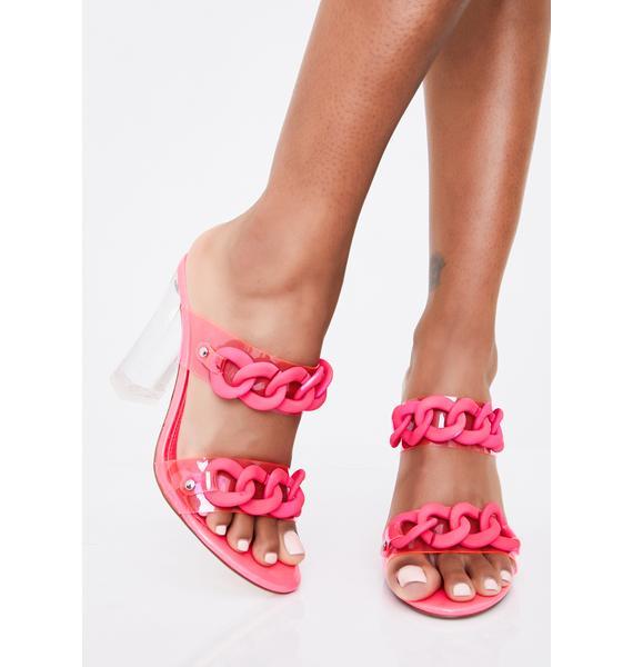 Mimosa Me Block Heels