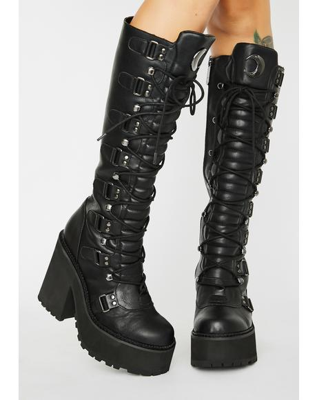 Selene Knee High Boots