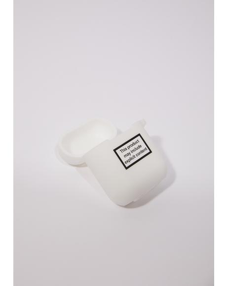 Explicit Content Airpod Case