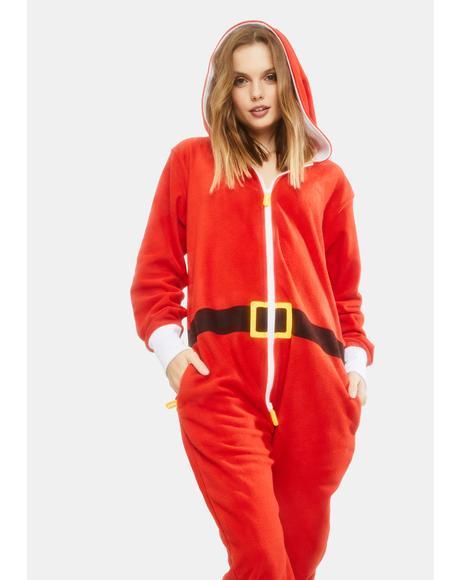 Santa Pajama Jumpsuit