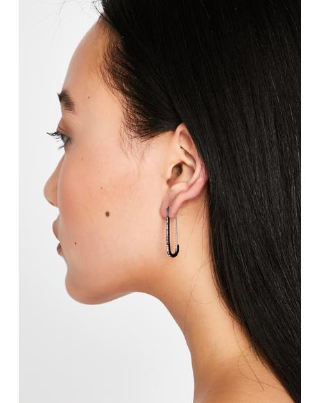 Gettin' Paper Clip Earrings