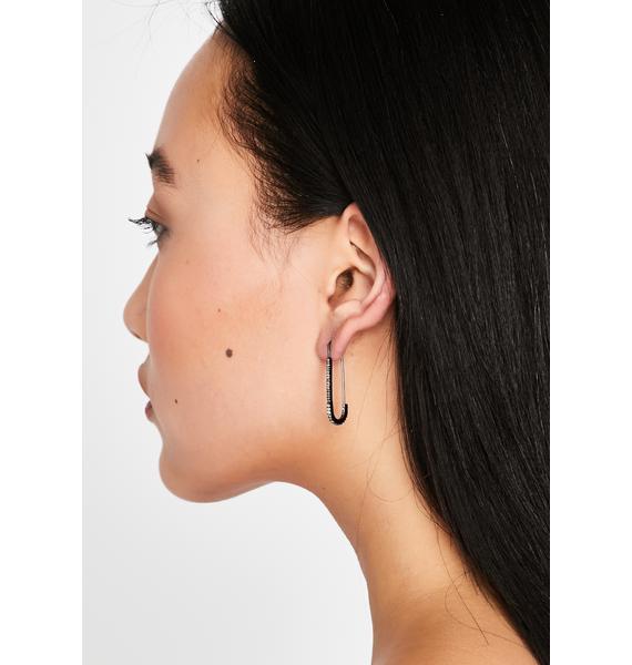 Gettin' Paper Clip Earrings