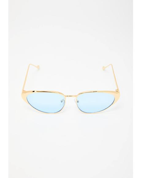 Sky Total Wannabe Cat Eye Sunglasses