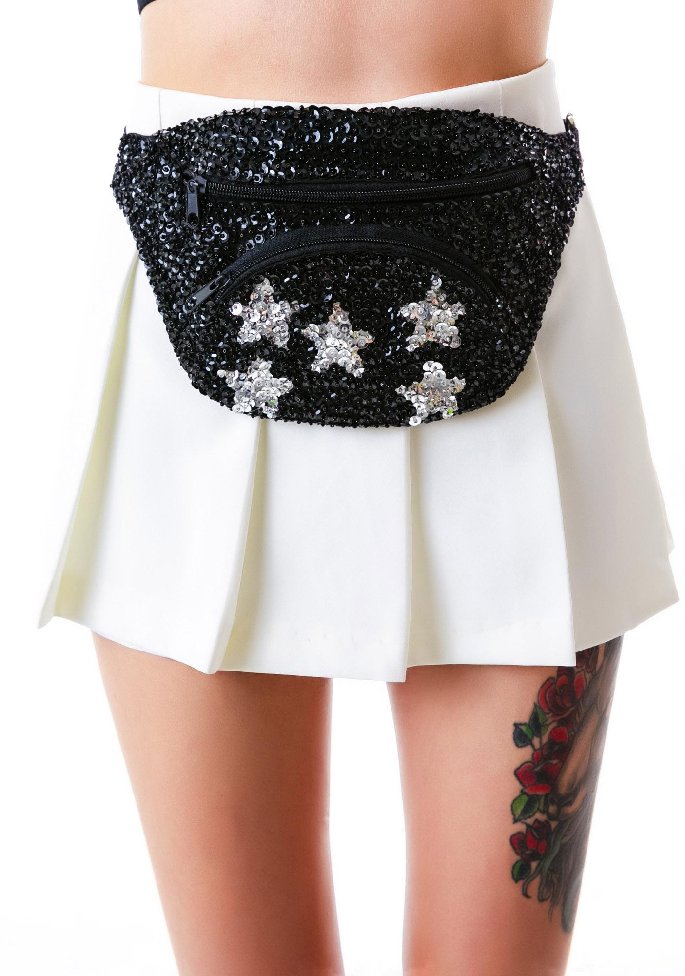 Star Bright Sequin N' Fanny Pack