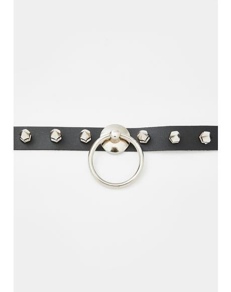 X Rated O-Ring Choker