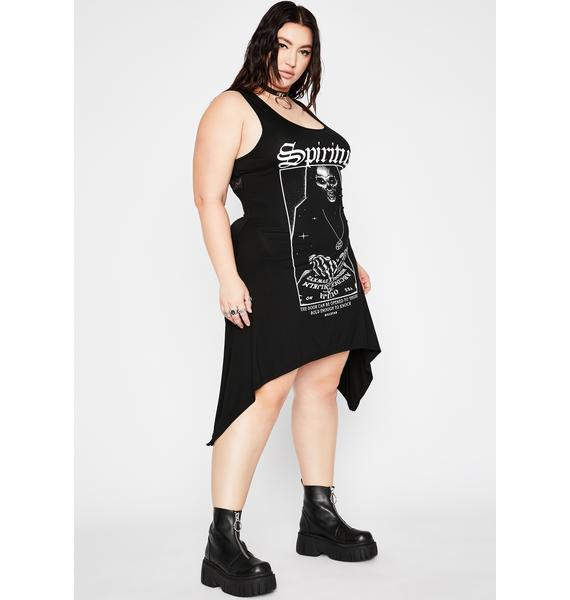 Killstar Plus Spiritus Lace-Up Tunic