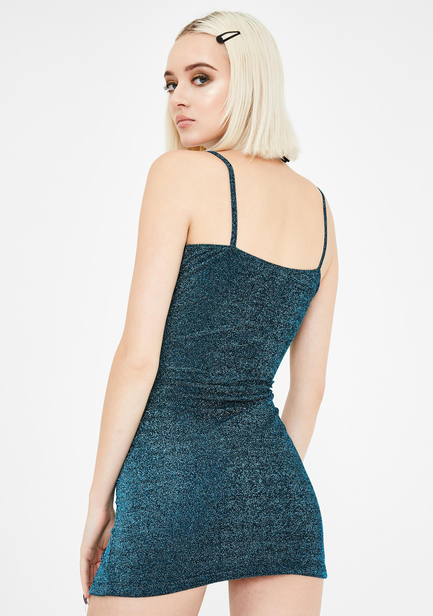 Motel Blue Alene Bodycon Dress