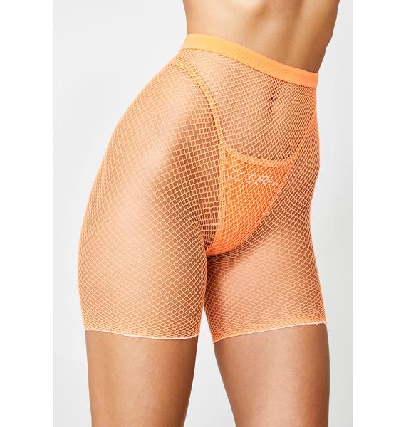 Juicy Techno Fume Biker Shorts