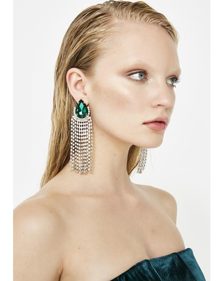 Glitz N' Glamour Jewel Earrings