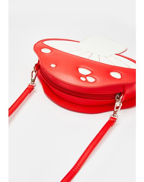 Shroom Bloom Crossbody Bag