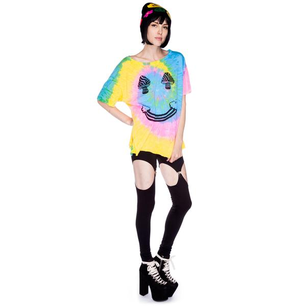 UNIF Shroom Cloud Face Tee