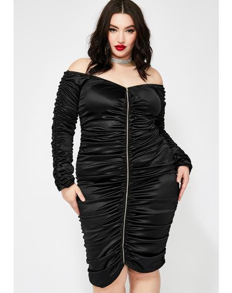 Forever Goalz Satin Dress