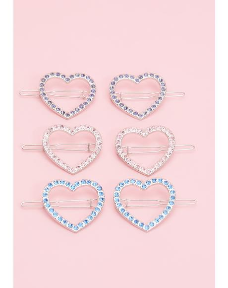 Forbidden Lover Hair Clips