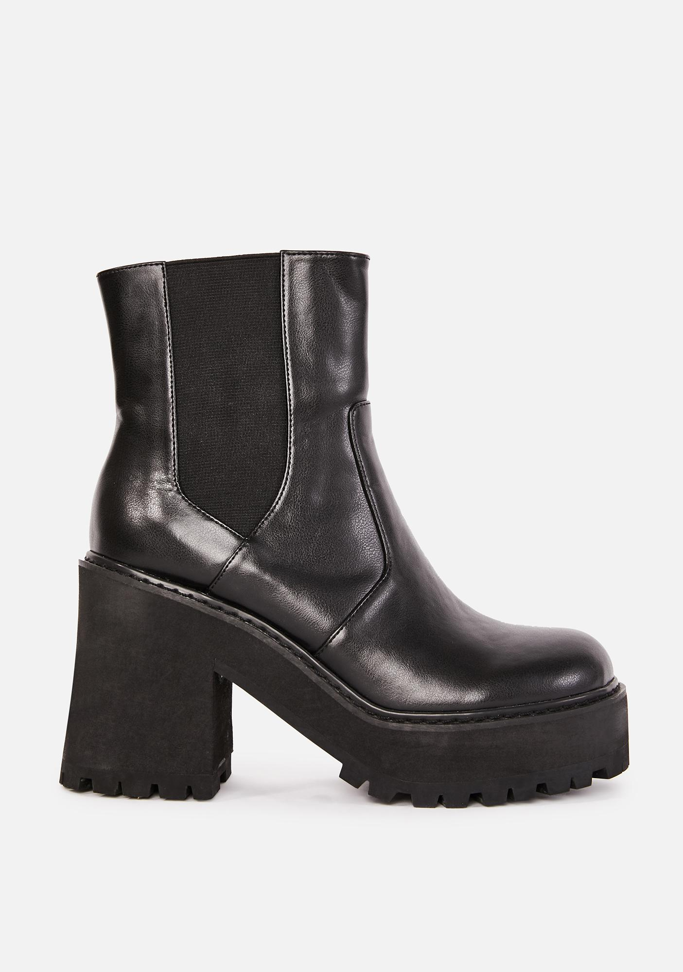 dELiA*s by Dolls Kill Rush Hour Platform Boots