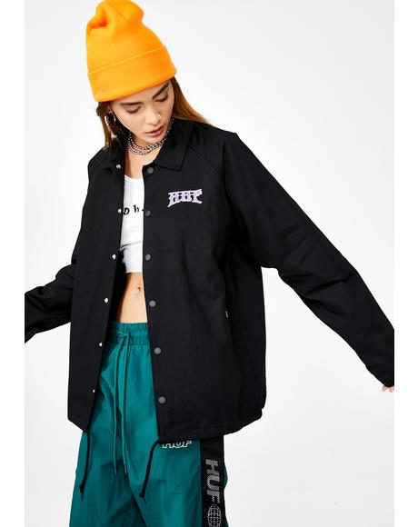 Info Warfare Coach Jacket