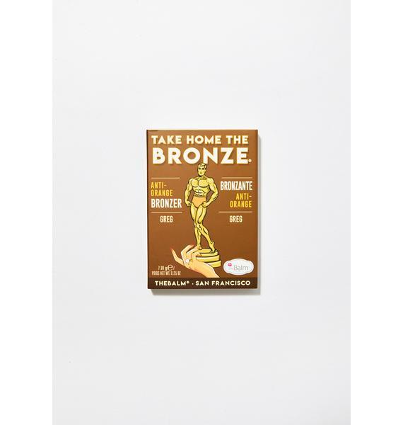 The Balm Greg Take Home The Bronze Anti-Orange Bronzer
