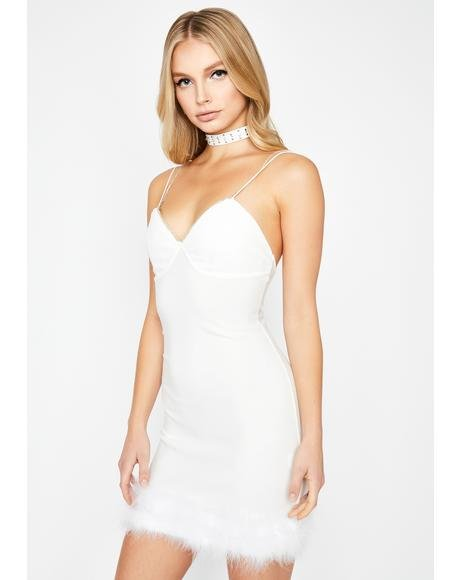 Innocent Frisky Tricks Mini Dress