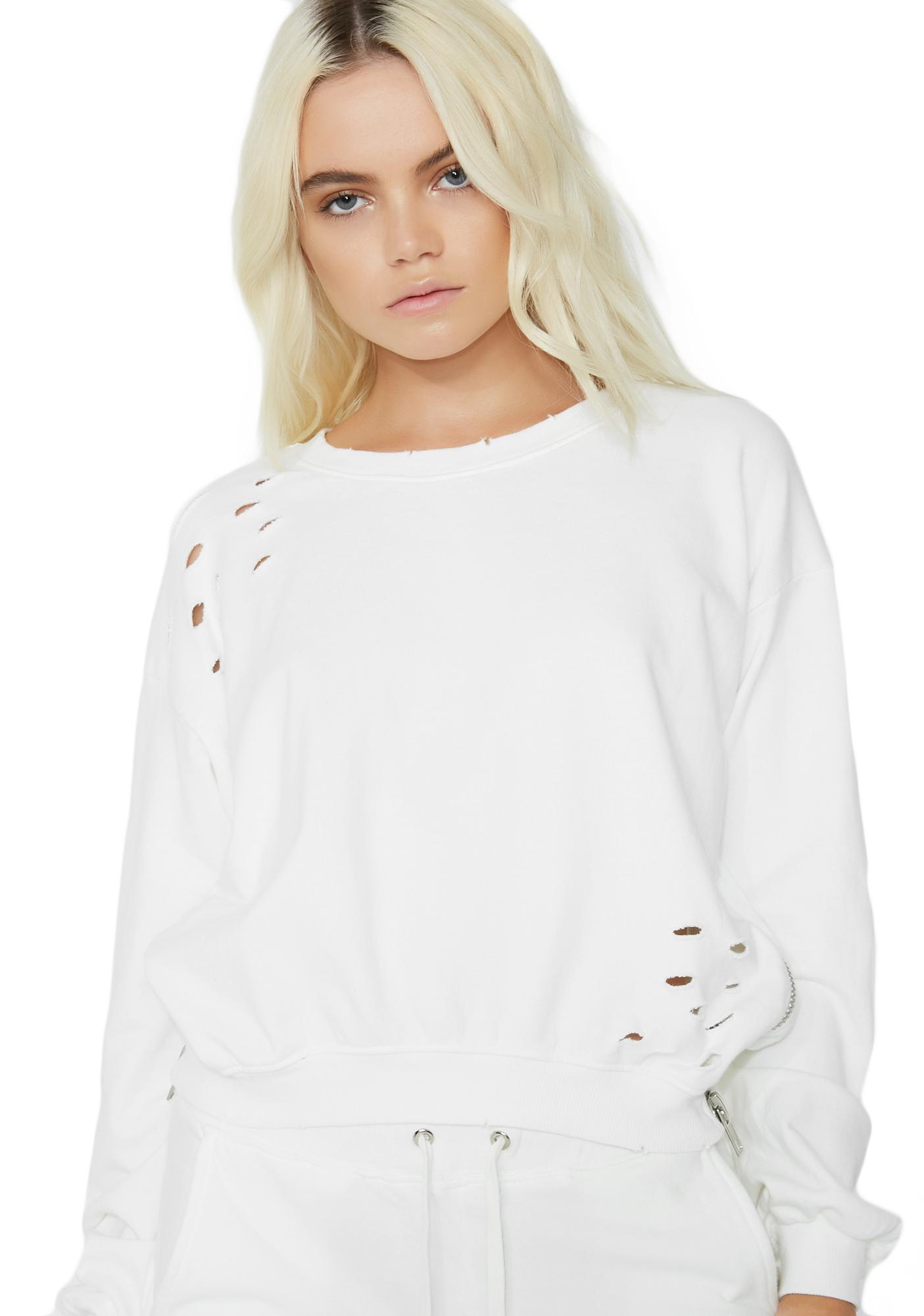 Keep Your Cool Distressed Sweatshirt