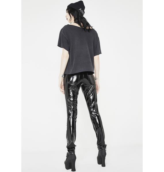 Tripp NYC Vinyl Skinny Pants