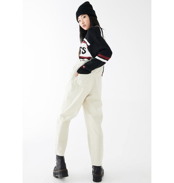 Mink Pink Jada Zip Front Overall