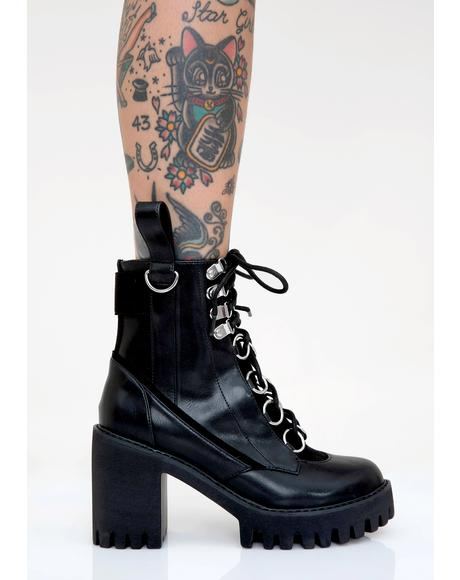 Nocturne Platform Boots