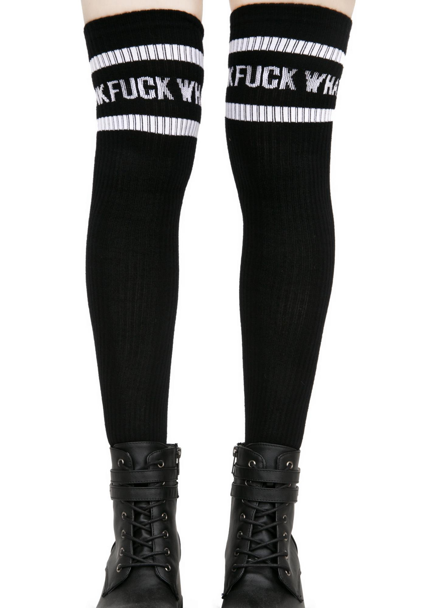 Killstar None Given Sporty Socks