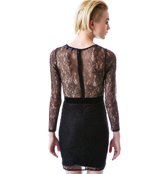 For Love & Lemons Vanity Mini Dress