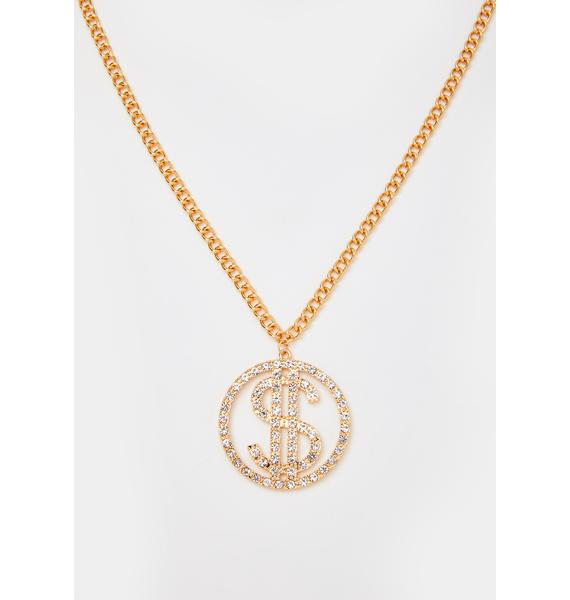 Icy Drip Chain Necklace