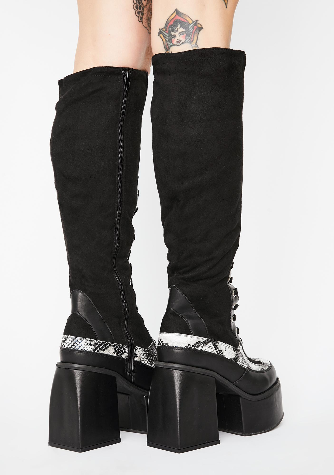 Stomp U Out Knee High Boots