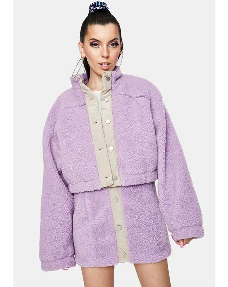 Yummy Sherpa Fleece Jacket
