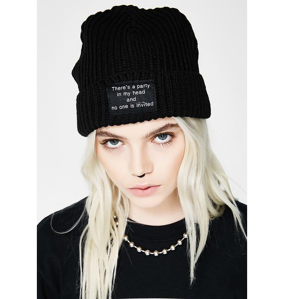 Disturbia Party Beanie