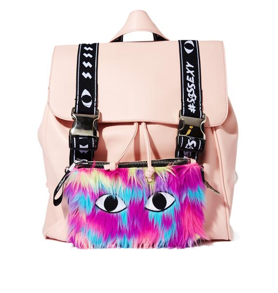 Outerspace Cat's Eye Two-Way Snapback Backpack