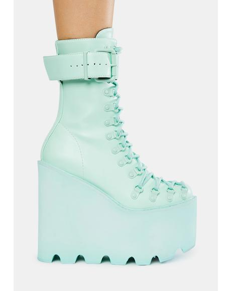 Mint Traitor Boots