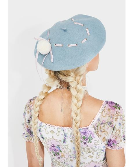 Sweet Serenade Ribbon Beret