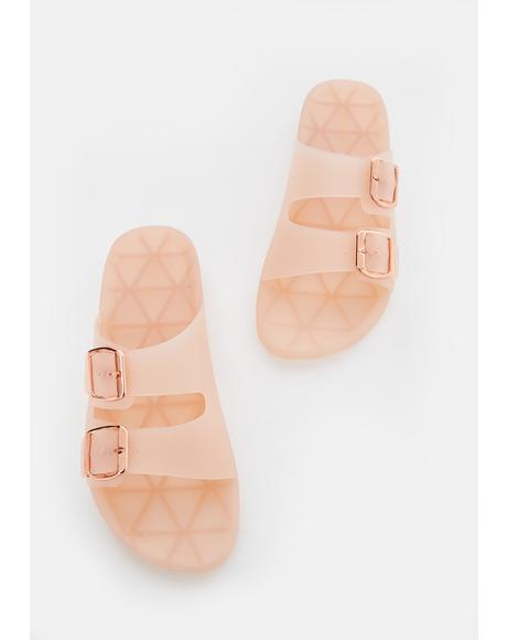 Soft Beach Day Slip On Sandals