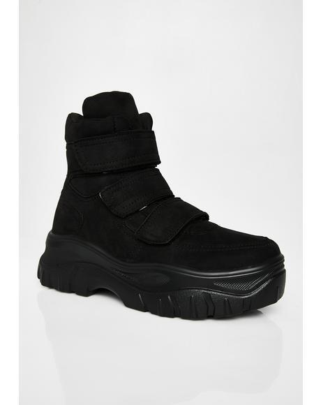 Bae Velcro Sneakers