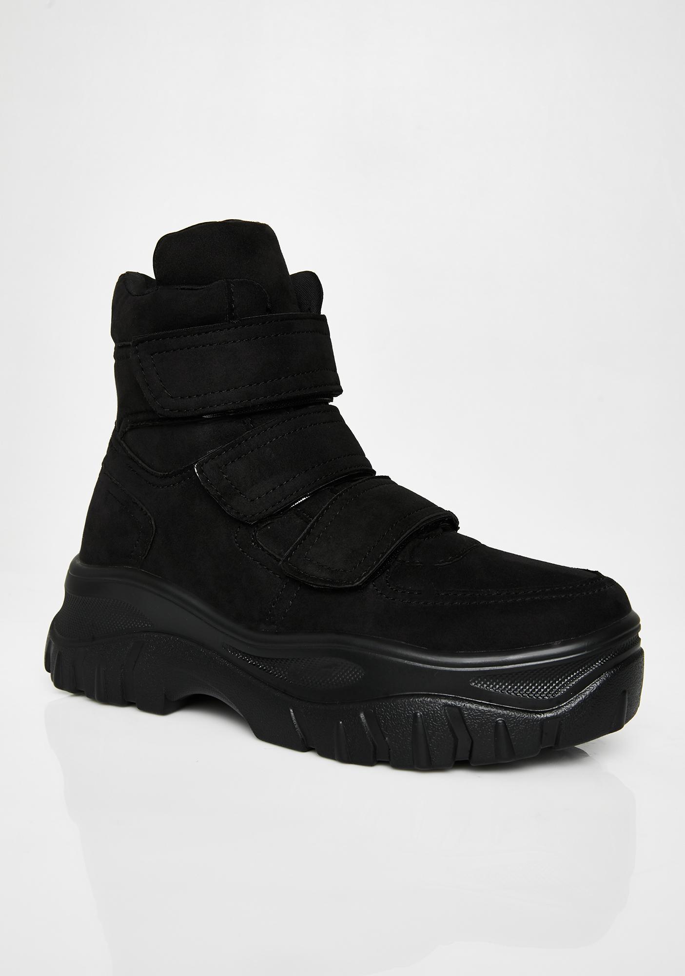 Public Desire Bae Velcro Sneakers