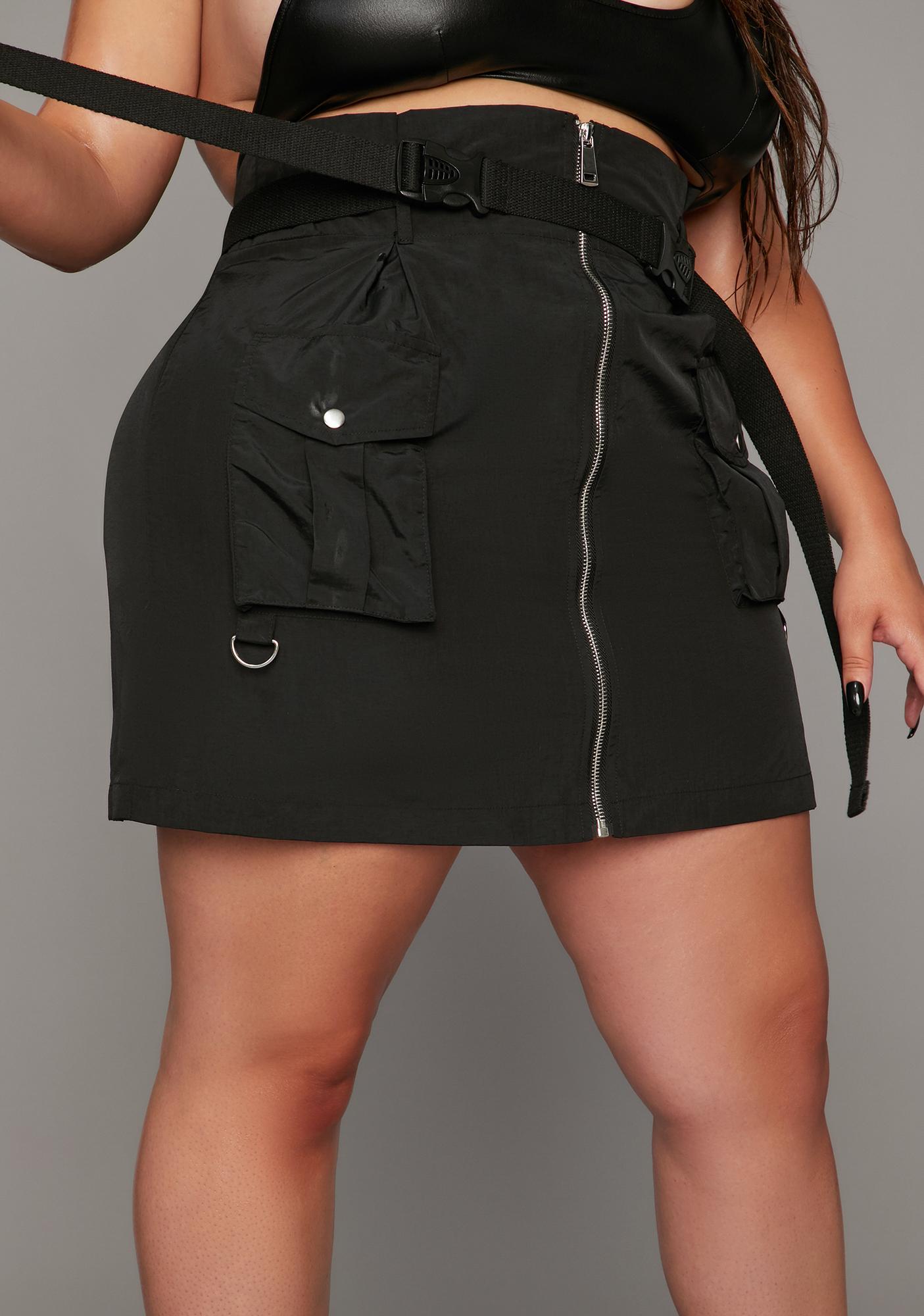 Poster Grl Always Take The Title Cargo Skirt