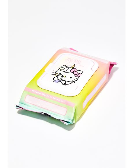 Hello Kitty Unicorn Cleansing Towelettes