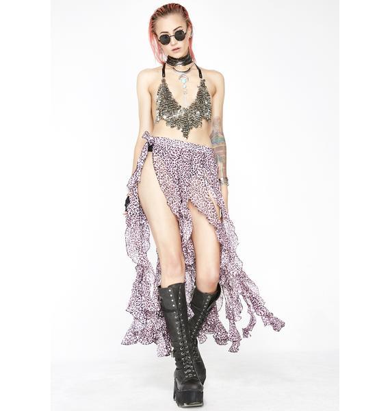 Miss Fierce Femdom Ruffle Skirt
