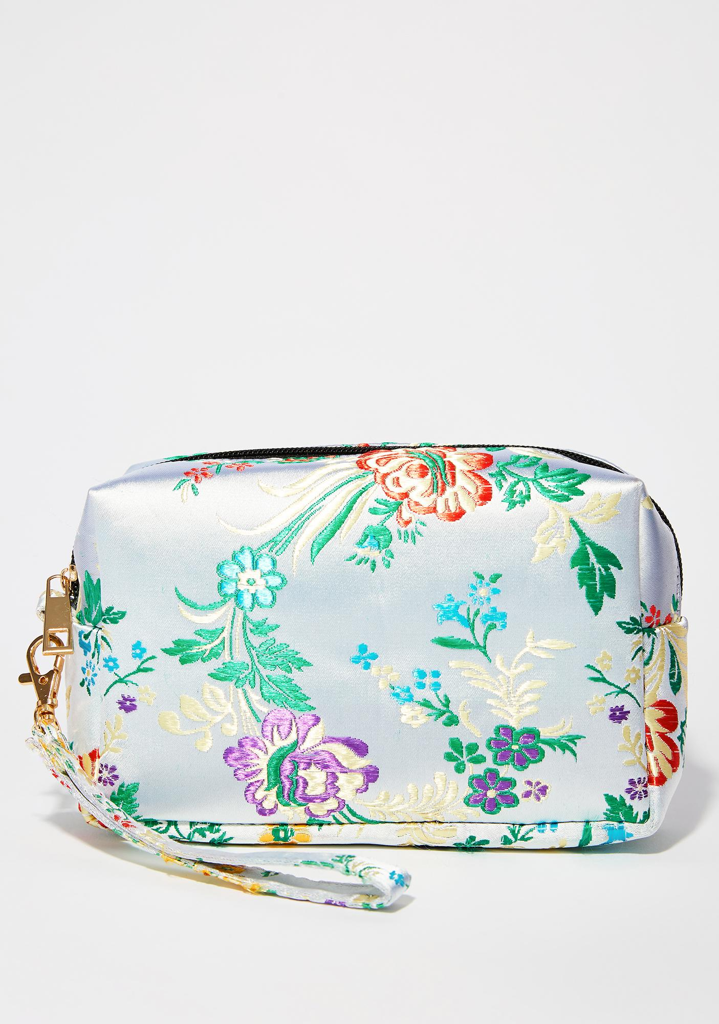 High Tea Time Wristlet