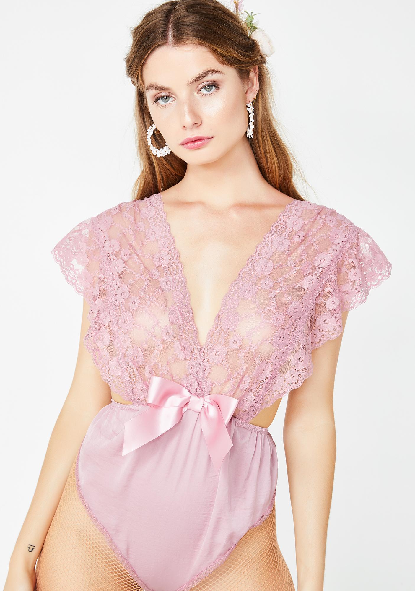 Sugar Thrillz Love's Ecstasy Lace Bodysuit