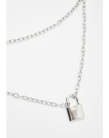 Cadet Sass Lock Necklace