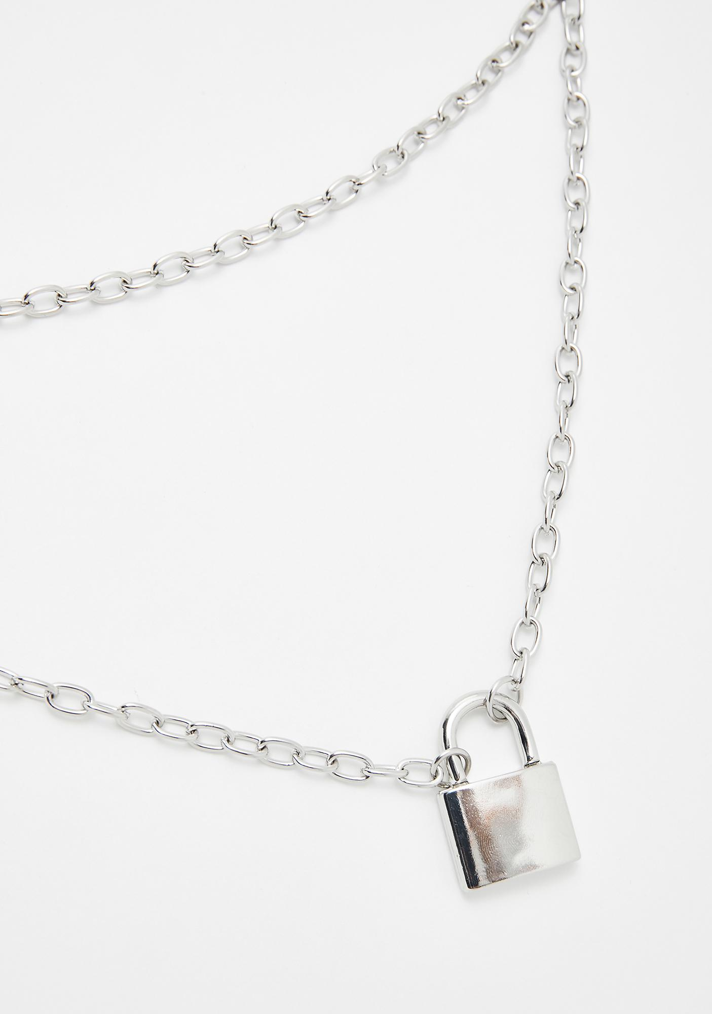 Cadet Sass Lock Necklace