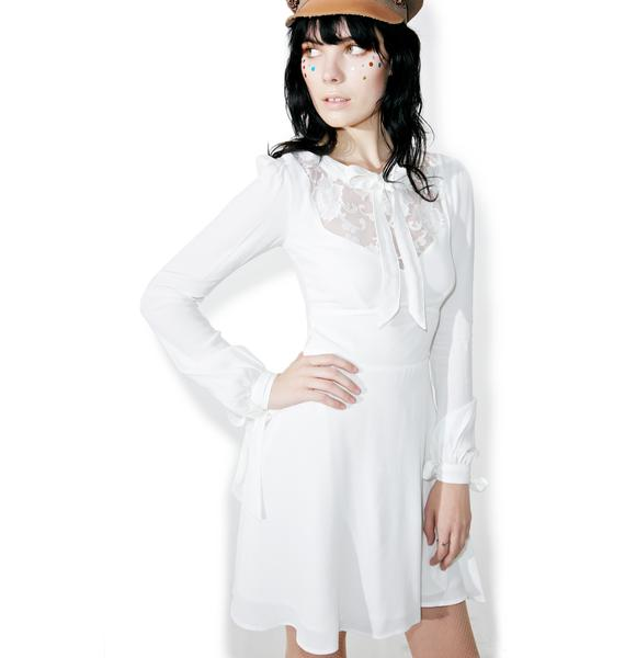 For Love & Lemons Ellery Mini Dress