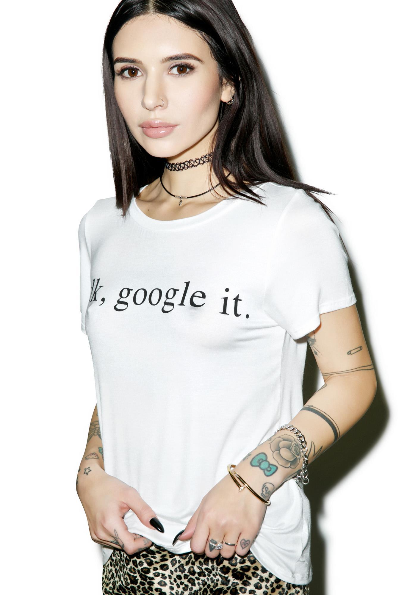 Internet Age Tee