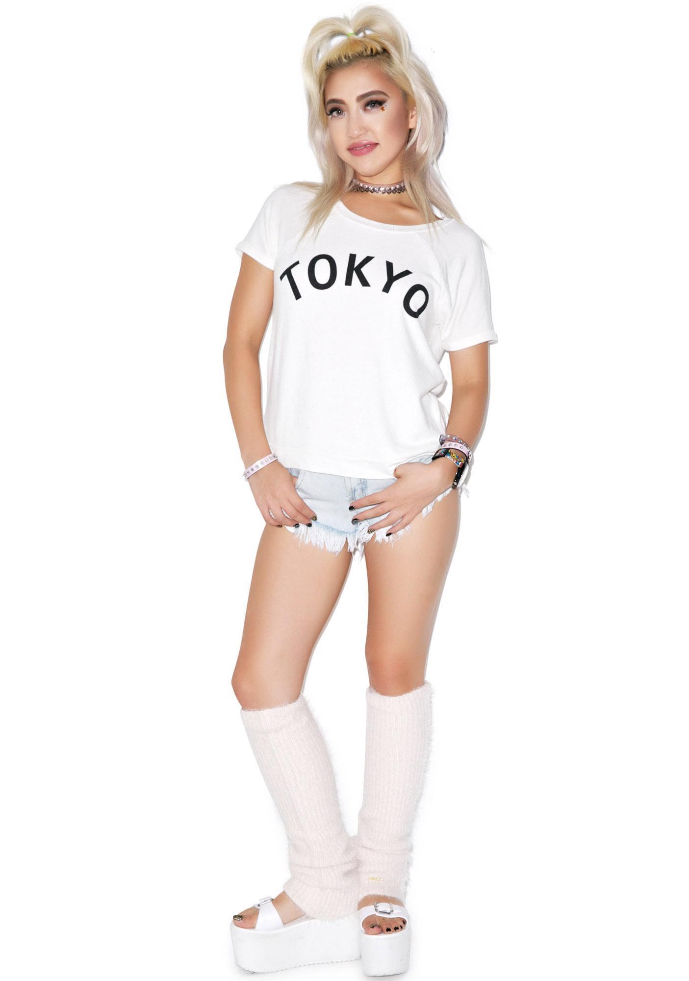 Wildfox Couture Simple Tokyo Camden Top