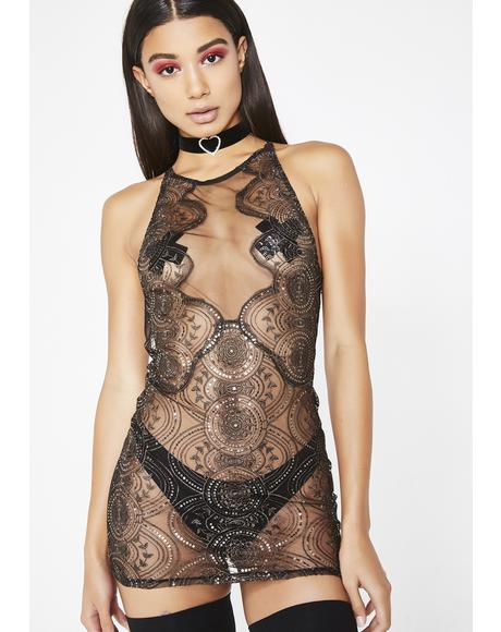 Secret Santa Sequin Babydoll